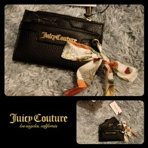 🔸 Juicy Couture🔸 Black leather Wallet